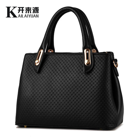 100% Genuine leather Women handbag 2016 New sweet Fashion handbag Crossbody Shoulder Handbag women messenger bags k075