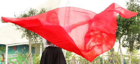 100% real silk belly dance veil cheap dance veils tari perut kostum veil wholesale factory price 250 or 270*114 cm Solid color