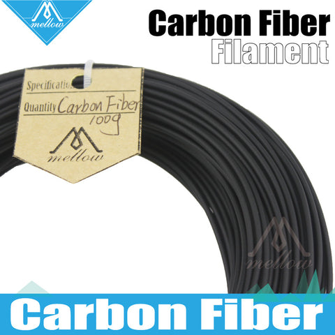 100g 3D Printer Material 1.75mm 30% Carbon Fiber PLA Filament RepRap Makerbot Ultimaker Mendel kossel creatbot etc Sales 3D PEN