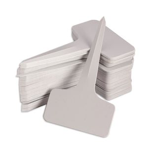 100pcs 6 x10cm T-type Tags Plastic Plants Markers Labels for the Garden Ornaments