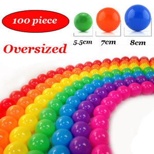 100pcs lot Oversized Eco-Friendly Colorful Soft Plastic Water Pool Ocean Wave Ball Baby Funny Toys outdoor fun sports