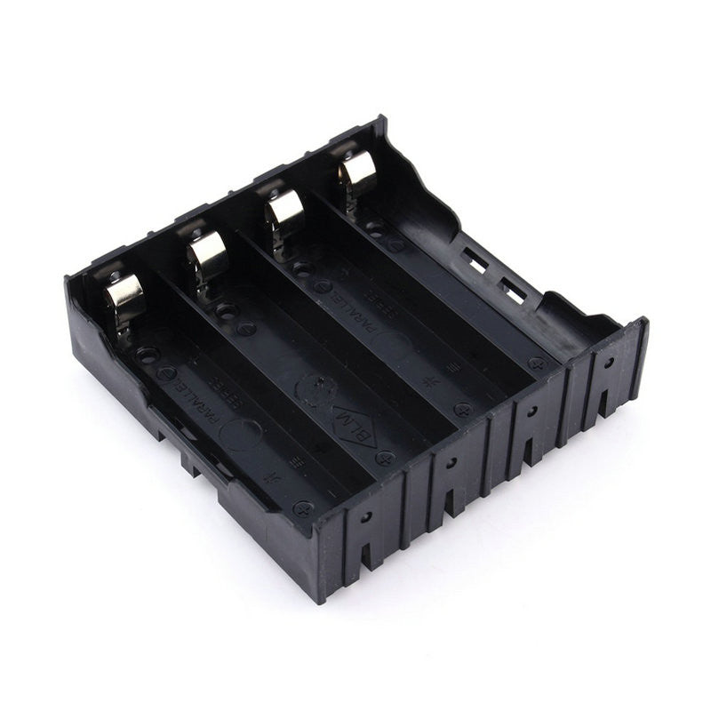 10860 Battery Storage Box Battery Holder Case Cover with Pin Suitable for 1 2 3 4Pcs 18650 Lithium Battery Charger