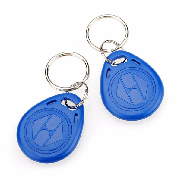 10pcs 125kHz RFID Proximity ID Token Tag Key Keyfobs Keychain Chain Plastic For Access System Free Shipping