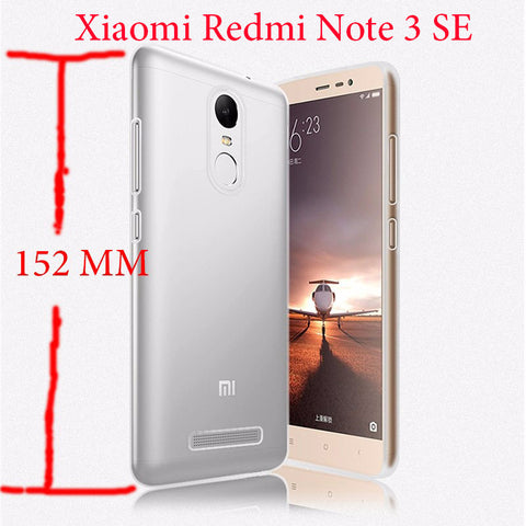 152mm Xiaomi Redmi Note 3 3i Pro SE Coque Ultra Silicone TPU Cover For Xiaomi Redmi Note 3 Pro Prime Special Edition TPU Case