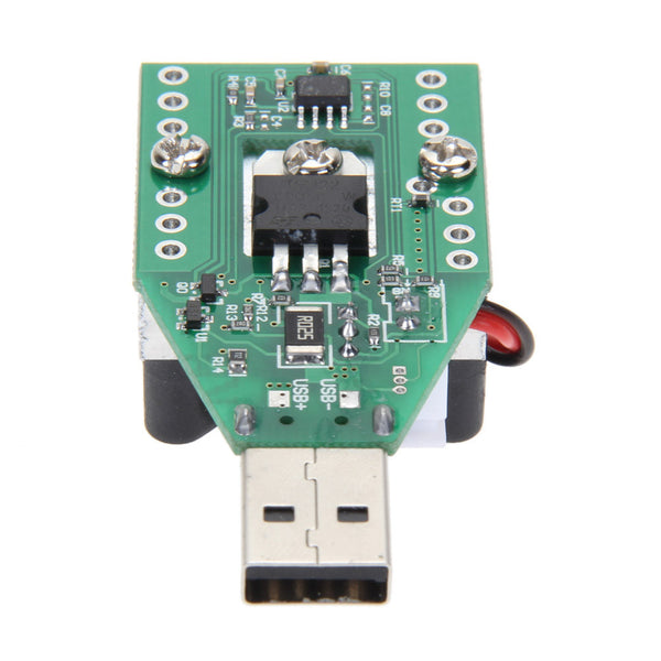 15W RD Industrial Grade Electronic Load Resistor USB Interface Discharge Battery Test Meter Capacity With Fan Adjustable Current