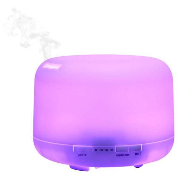 168 Color Changing Light 500ML Electric Aroma Essential Oil Diffuser Air Humidifier for Home Ultrasonic Mist Maker