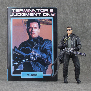 18cm NECA Terminator 2: Judgment Day T-800 Arnold Schwarzenegger PVC Action Figure Collectible Model Toy