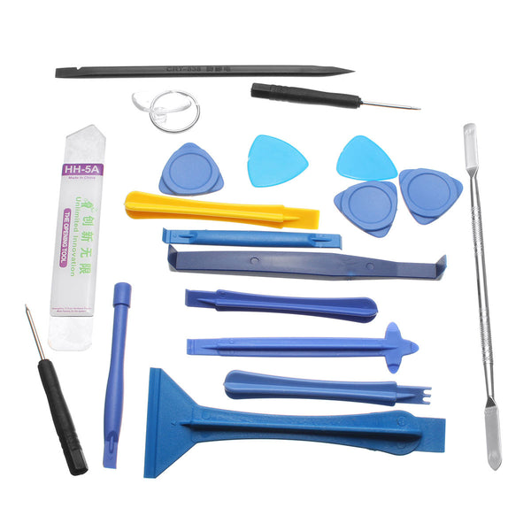 19 Pcs Repair Tools Laptop Phone&Screen Disassemble Tools Set Kit For i-Phone For i-Pad Cell Phone Tablet PC
