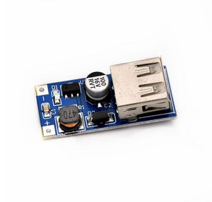 1PCS Blue DC-DC USB Output charger step up Power Boost Module 0.9V ~ 5V to 5V 600MA USB Mobile Power Boost Board