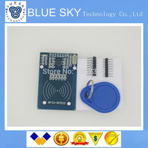 1PCS LOT RFID module RC522 Kits S50 13.56 Mhz 6cm With Tags SPI Write & Read for arduino uno 2560