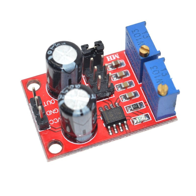 1PCS NE555 pulse frequency duty cycle adjustable module square rectangular wave signal generator stepping motor driver