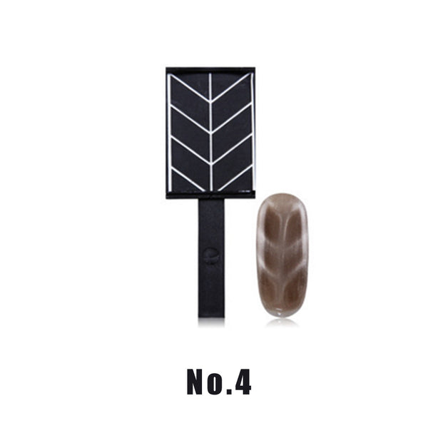1Pcs Cat Eye Magnet Cat Eye Pen Strip Magical Magnet Stick DIY Magic 3D Magnetic Cats Eye Polish UV Gel Polish Cat Eyes Nail Art