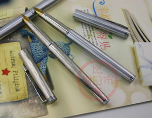 1Pcs Lot stainless steel fountain pen garland fountain pen free shipping