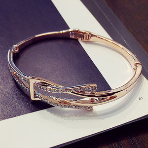 2016 new jewelry gold plated bracelet sweet cute simple geometric bracelets & bangles for women bijoux all match