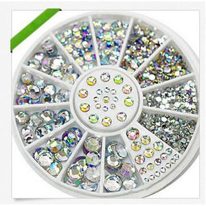 1Bag Nail Art 3D Decorations Rhinestones For Nails Art Tips Crystal Glitter For DIY Tips Nail Tools Manicure Decoration