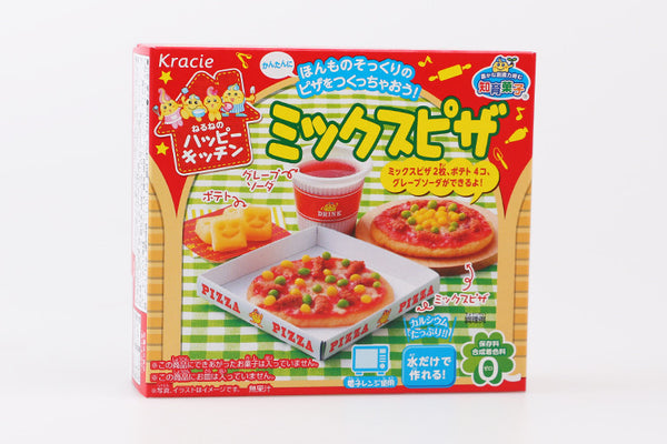 1bag Popin Cook Pizza. Kracie Pizza cookin happy kitchen Japanese candy making kit