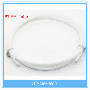 1M 2*4mm PTFE Tube Teflon PiPe to J-head hotend RepRap Rostock Bowden Extruderfor 1.75mm with free shipping