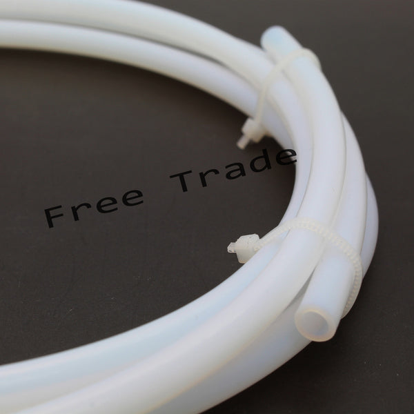 1Meter PTFE Tube Teflon PiPe for J-head hotend Bowden Extrude 1.75mm 3mm filament ID 2 4mm OD 4 6mm For 3D printer kossell