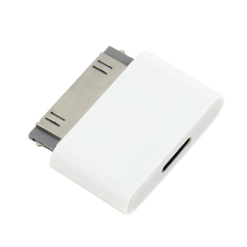 1pc 8 Pin Female to 30 Pin Male Adapter for iPhone 4S for iPad 3 for iPod Touch 4 Free 8pin to 30pin adapter White Hot