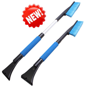 1PC Car Vehicle Snow Ice Scraper SnoBroom Snowbrush Shovel Removal Brush Winter Car Windows Clean Tools Accessories Wholesale