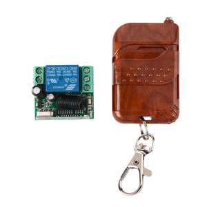 1pc DC 12v 10A relay 1CH wireless RF Remote Control Switch Transmitter+ Receiver 433MHz