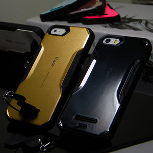 1pc for iphone 5s case IFACE plastic and TPU rubber skin for iphone 5 5S 4 4S 6 6S 7