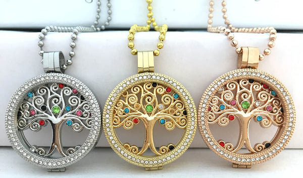 1pc free shipping sliver dream catcher people coin mix color My 33mm coins copy frame pendant locket Jewelry rose gold