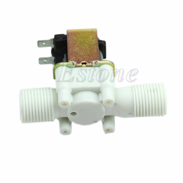 1pc New Electric Solenoid Valve Magnetic DC 12V N C Water Air Inlet Flow Switch 1 2""
