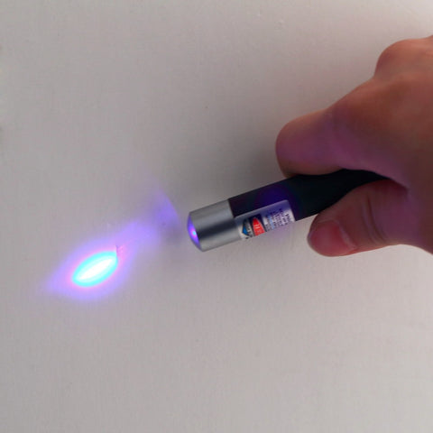 1Pc Powerful 5mw 405nm Professional Lazer Blue Violet Laser Pointer Pen Beam Light High Quality