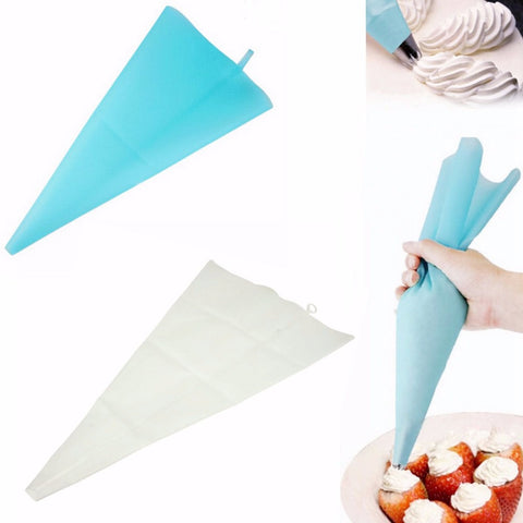 1PCS 50cm or 55cm Length Silicone Pastry Bag Icing Piping Squeeze Cream DIY Dessert Cake Decorating Baking Tool