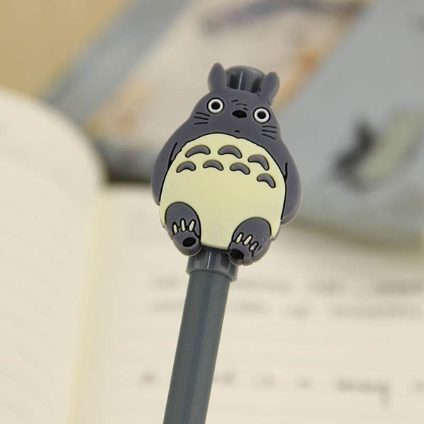 1pcs My Neighbor Totoro Gel Ink Pen Escolar Office Stationary for Kids Student School Office Supplies Kids Gift