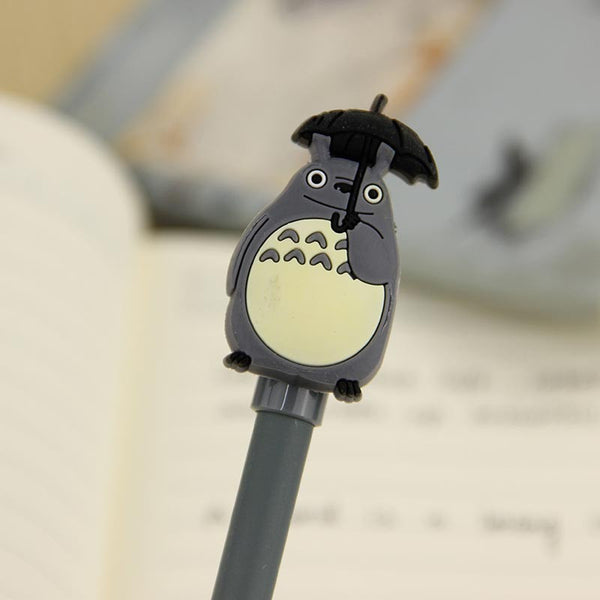 1pcs Office Stationary Pen Cute My Neighbor Totoro Gel Ink Pens Signature Pen Escolar School Supplies
