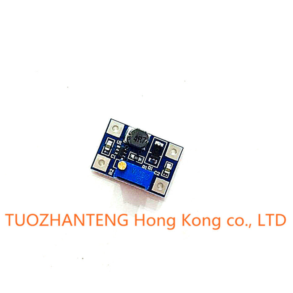 1pcs Smart Electronics DC-DC SX1308 Step-UP Adjustable Power Module Step Up Boost Converter 2-24V to 2-28V 2A