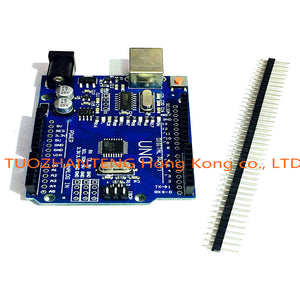 1pcs Smart Electronics high quality UNO R3 MEGA328P CH340G for arduino Compatible NO USB CABLE