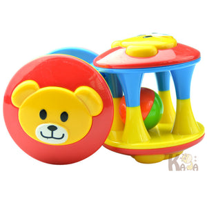 1pcs Baby Toy Fun Little Loud Jingle Ball Ring jingle Develop Baby Intelligence Training Grasping ability Toy For Baby 6M-1Year