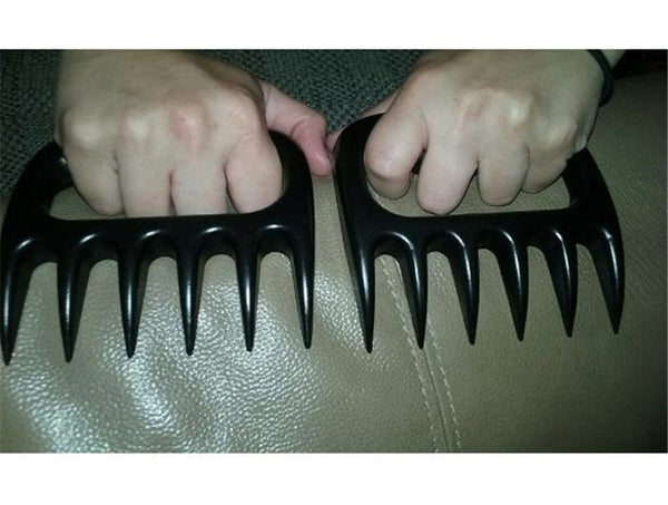 1pcs Bear Claws Paws BBQ Forks Meat Handler Carving Forks for Heat Resistant Barbecue Smoked Barbecue Grilling Tool