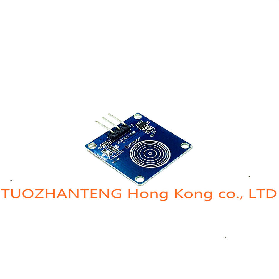 1pcs lot TTP223B 1 channel Jog digital touch sensor capacitive touch touch switch modules Accessories for arduino