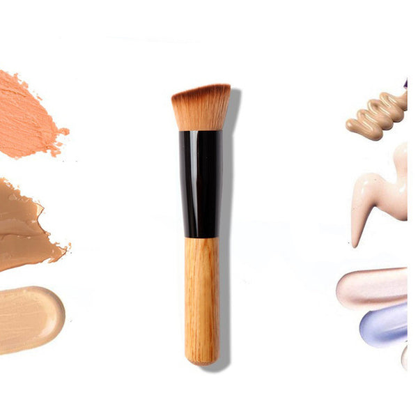 1PCS Multi-Function Pro Makeup Brushes Powder Concealer Blush Liquid Foundation Make up Brush Set Wooden Kabuki Brush Cosmetics