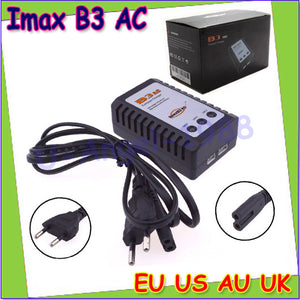 1pcs RC Imax B3AC Hot RC B3 LIPO Battery Charger B3 7.4v 11.1v Li-polymer Lipo Battery Charger 2s 3s Cells for RC LiPo