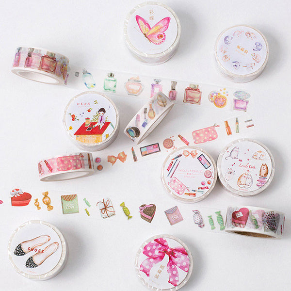 1x twilight girls series washi tape children DIY album Diary decoration masking tape stationery scrapbooking tool Free shipping