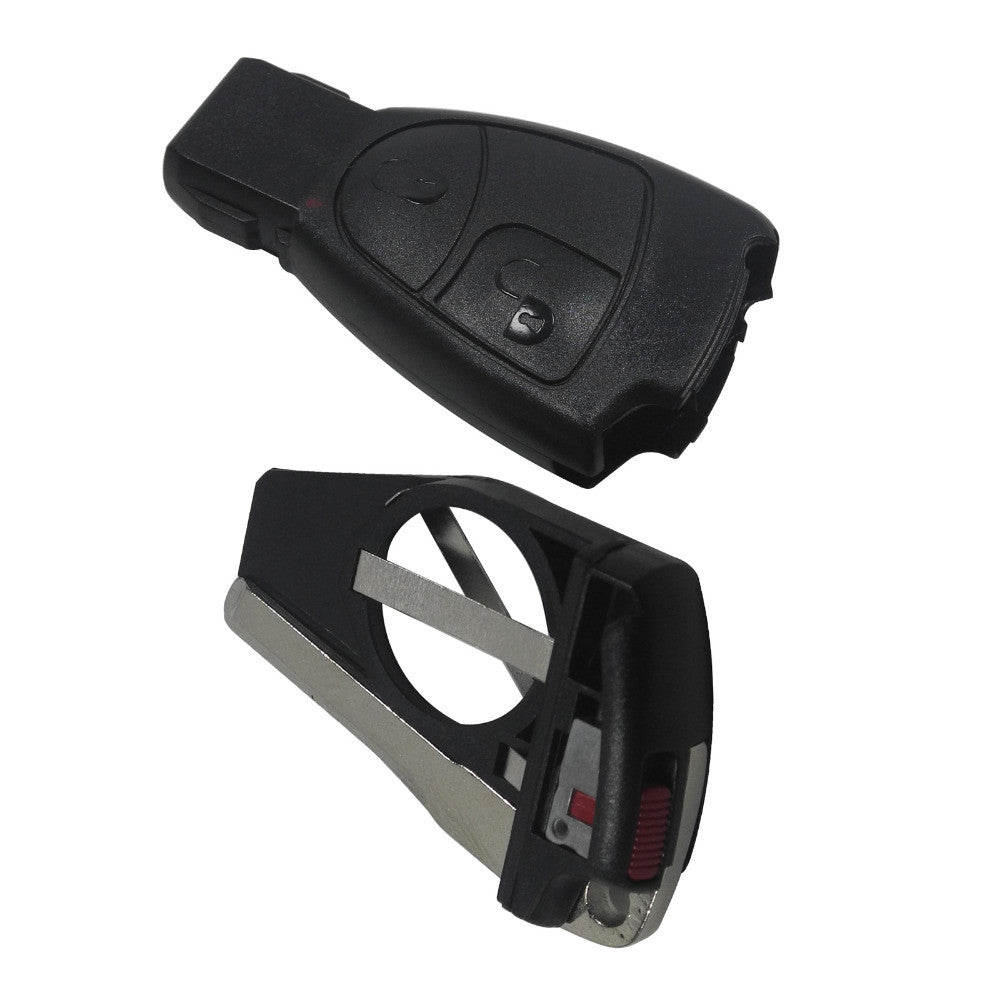 2 Button Replacement Remote Key Fob Case For Mercedes Benz C E ML