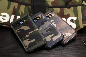 2 in 1 Army Camo Camouflage Hybrid Armor Case For Samsung Galaxy J1 J3 J5 J7 2016 J120 J310 J510 J710 Hard PC+TPU Soft Case MC01