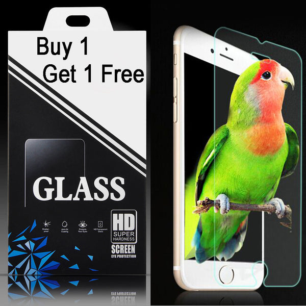2 Pcs For iPhone 7 Glass Screen Protector Premium Tempered Glass Clear Front Film For iPhone 7 Plus 2.5D 9H Explosion-proof
