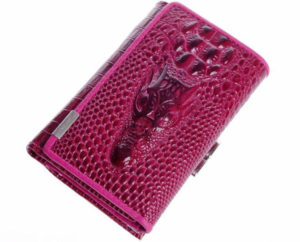 Temanli Character Genuine Leather Wallet Women 0802