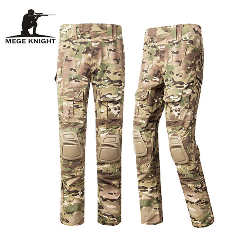 2014 ATAC FG Camouflage Tactical Military Hiking Pants Airsoft Painball US Men Army Cargo Trouser Combat ACU CP Work Clothing