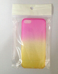 2015 Fashion Candy Colors Gradient TPU Clear Transparent For Apple Iphone 6S 6 case 4.7'' Back Cover Skin Protective Phone Cases