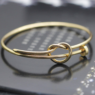 2015 Top Quality 3 Color Trendy Brand Win Nail Bangle & Bracelet For Women Fine Jewelry Wholesale 8387