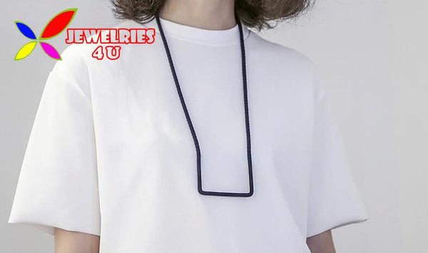 2015 hot fashion designer multi-color rope geo false collar pendant necklace for women simple costume jewel collar para mujer
