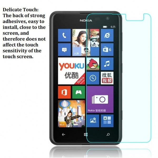 2016 9H HD Real Tempered Glass For Nokia Lumia 435 520 530 535 540 630 640 820 830 930 730 735 1020 Screen Guard Film Protector