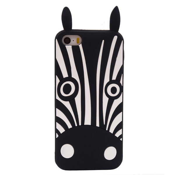 2016 Fashion cute cartoon animals design love dog zebra owl cat soft silicone case cover skin For Samsung galaxy cell phone